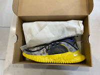 "Nike ISPA Flow 2020 SE ""Black Yellow"" Men's Trainers Limited Stock UK11 US12"