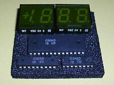 C501D + C504D + D346D + VQE22 + VQE24 RFT A/D Set 3 1/2 stellig incl. LED!!