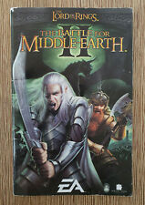 Lord of the Rings Battle for Middle-Earth II 2 PC Instruction Guide Booklet