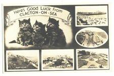 ESSEX - CLACTON postcards