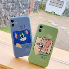 Funny Tom And Jerry TPU Phone Case Cover For iPhone 11 Max X 7 8 Plus XR SE 2020