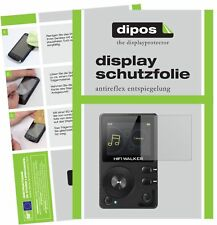 6x HIFI WALKER H2 MP3-Player Schutzfolie matt Displayschutzfolie Folie Display