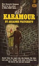 KARAMOUR by Ariadne Pritchett, Gold Medal Book, Romantic Suspense Printed 1968