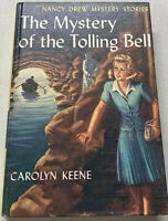 Nancy Drew #23, Mystery of the Tolling Bell, Carolyn Keene Good Condition