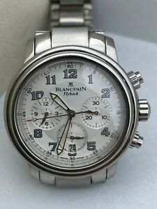 Blancpain 2185 1130 Flyback blanche