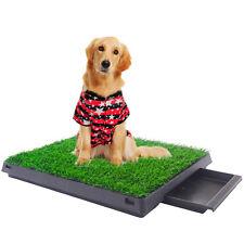 Pet Potty Puppy Training Pad Grass Toilet Trainer Tray Portable Dog Bathroom Mat