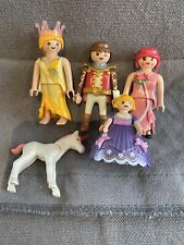 Playmobil 5 Figure Bundle Prince Princesses & Unicorn