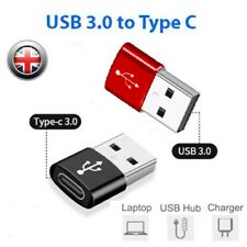 USB3.0 (Type-C) to USB 3.0 (USB A) Male Female Connector Converter Alloy Adapter