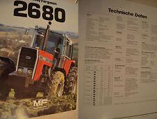 Massey Ferguson MF 2680  Prospekt