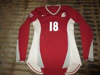 Washington State Cougars Volleyball Team Game Worn Used nike Jersey Womens SM