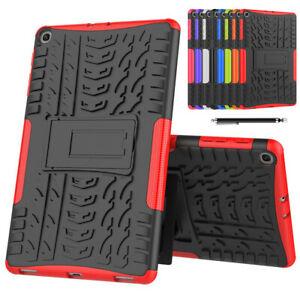 Tablet Case for Samsung TAB A T510,T720,T290 Hybrid Rugged Stand Cover + Stylus