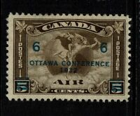 Canada SC# C4, Mint HInged, Hinge/Page remnants - S6808