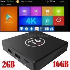 T6 Amlogic S905X Quad Core 2GB 16GB Android 6.0 TV Box 4K VP9 WIFI Mini PC A7E5