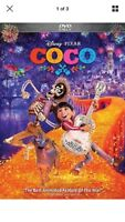 Coco (DVD, 2018) Family/AdventureNew Fast Free Shipping with Tracking Number!