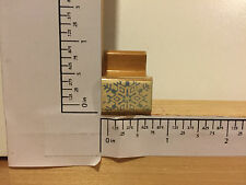 Vintage Snowflake, Wood Mounted Rubber Stamp HAND STAMP Y