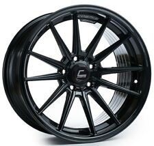 Cosmis Racing R1 18x10.5 5x114.3 ET30 Black Rims (Set of 4)