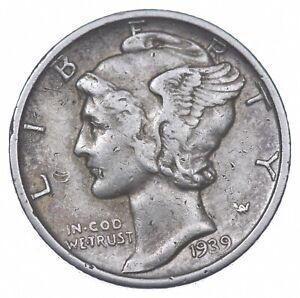 Razor Sharp 1939-S Mercury Liberty Dime 90% Silver Stunning in High Grade *692
