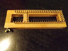 """Authentic Original 10"""" Knitting Board Loom Wood Wooden W/Metal Pins NEVER USED"""
