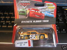 DISNEY PIXAR CARS OCTANE GAIN SYNTHETIC RUBBER TIRES!