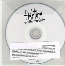(AL10) Fighting With Wire, Sugar - DJ CD