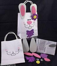 Kids Crafts - Easter Bunny Gift Bag Craft Kit (1)