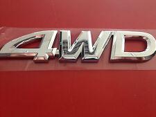 """4WD"" EMBLEM TOYOTA TUNDRA 1999-2004 OEM ACCESSORY OFF ROAD (75473-0C010)"