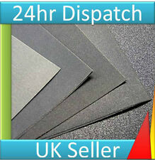 4 x WET and or DRY Sand Paper assorted Sandpaper sheets Wood Paint Metal Plastic