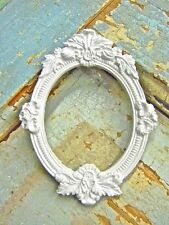 SHABBY n CHIC ARCHITECTURAL small  FRAMES  * FURNITURE APPLIQUES * SET OF  2 !