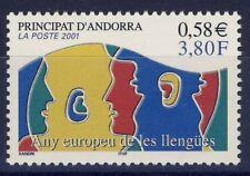 TIMBRE ANDORRE NEUF** N° 549 LANGUES EUROPEENE