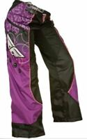 Fly Racing Kinetic Girls Over The Boot Pants Black/Purple/Pink Size 22-Medium