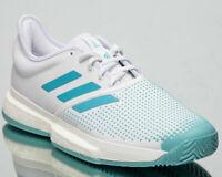 adidas SoleCourt BOOST M x PARLEY Size 10 White RRP £150 Brand New G26295