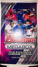2020 Bowman Mega Pack Lot (2) Each Contains 5 Chrome Mojo Refractors