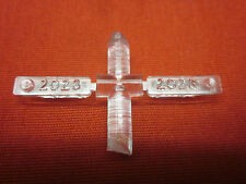 LIONEL TWO 2023 NUMBER BOARDS ( LOOK ) NEW OLD STOCK