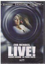 dvd - LIVE! ASCOLTI RECORD AL PRIMO COLPO