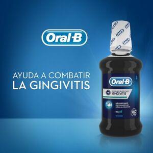ENJUAGUE BUCAL ORAL-B CLEAN MOUTH WASH GINGIVITIS COMBAT MENTA MINT 350ML Oral