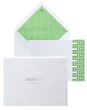 MIMOLINE Luxury Notecards on Crane's paper: DILIDO (color: verde)