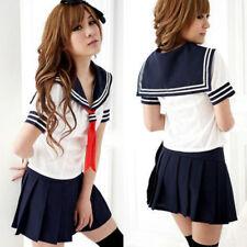 Ladies Cosplay Japanese School Girl Students Sailor Uniform Anime Costume