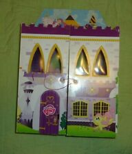 My Little Pony*Cardboard Castle*Carry Case*with drawer