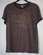 Women's T-Shirt,Cuckoo for Cocoa Puffs,Size M,Brown,Short Sleeve,Graphic Tee,TNT