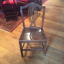 Furniture Georgian Welsh Antique Oak Country Armchair