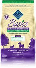 BLUE Basics Limited Ingredient Diet Adult Grain-Free Turkey & Potato Dry Dog ...