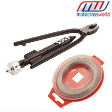 NEW RFX Safety Wire & Grip Wire Combo kit motocross Enduro
