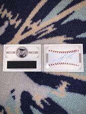 Jose Fernandez 3/5 Autograph Baseball & Game Worn Jersey 2014 National Treasures