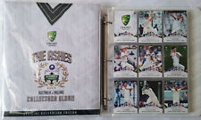 2017-18 tap n play cricket THE ASHES complete set with album + bonus sleeves