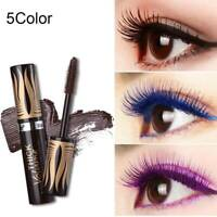 4D Silk Fiber Lash Mascara Waterproof Colorful Curling Eyelash Extension Thick