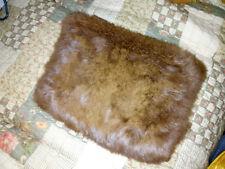 Vintage Genuine Rabbit Fur Hand Muff