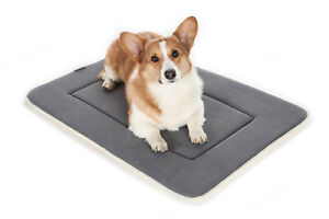 Dog bed kennel pad waterproof pad washable non-slip bed memory foam padding New