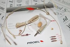 Proel HCM23SE Headset microphone with 3.5mm Jack plug for Sennheiser Trantec etc