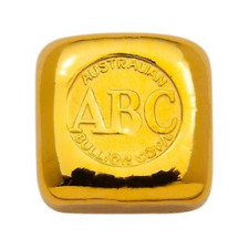Australian Bullion Company ABC - 1oz Cast Bar. 31.103g 0.9999 Fine Gold