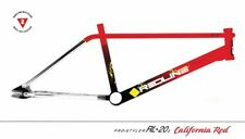 2021 (1985 replica) Redline RL 20 II BMX frame fork bars sprocket Red / Yellow
